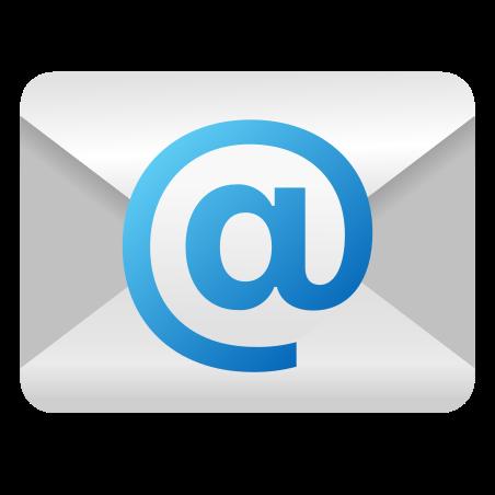 Icônes E Mail au style Émoticône