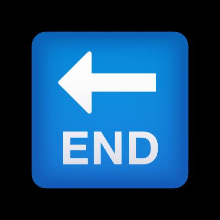 End Arrow icon