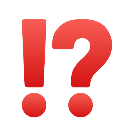 Exclamation Question Mark icon