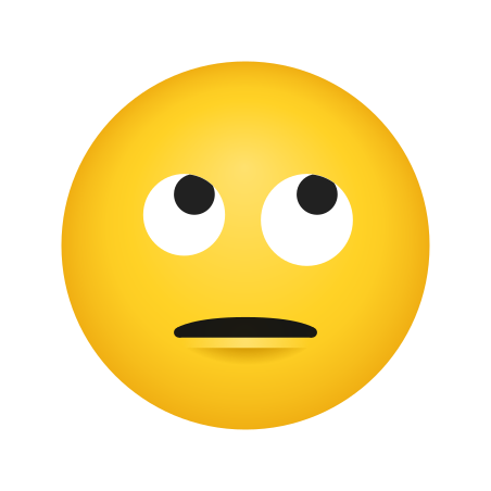 Face With Rolling Eyes icon
