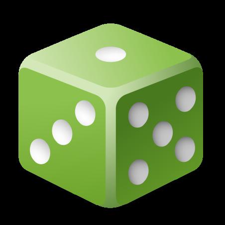 Game Die icon in Emoji