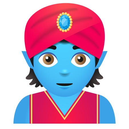 Genie Emoji icon