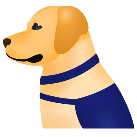 Собака-поводырь icon