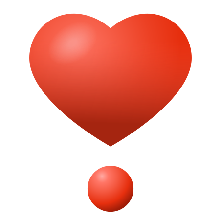 Heart Exclamation icon