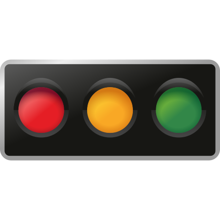 Horizontal Traffic Light icon