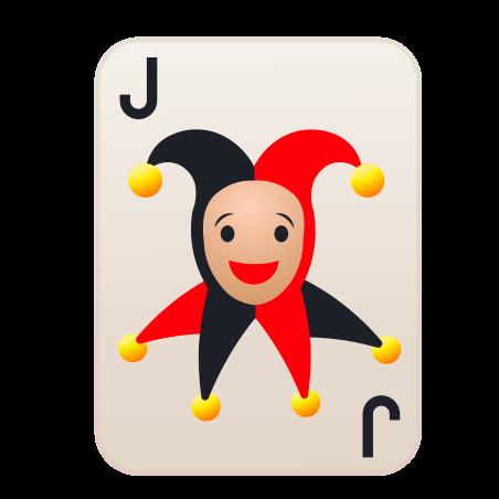 Joker icon in Emoji