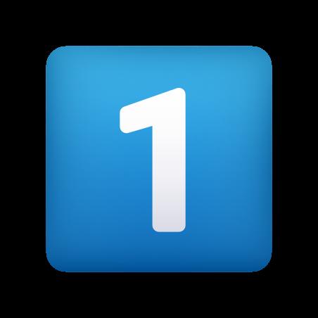 Keycap Digit One icon