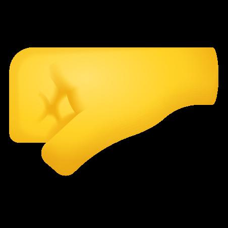 Left Facing Fist icon