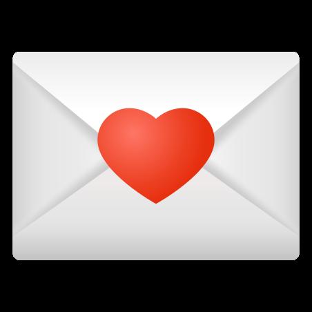 Love Letter icon in Emoji