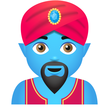 Man Genie icon