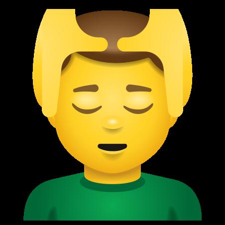 Man Getting Massage icon