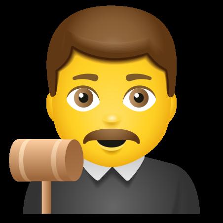 Man Judge icon