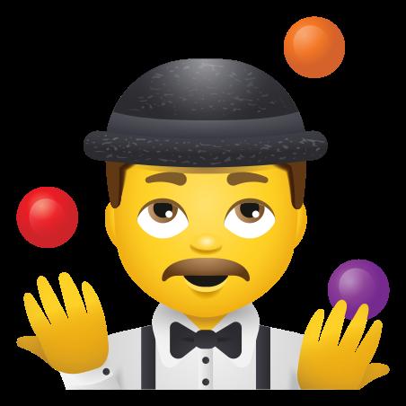 Man Juggling icon