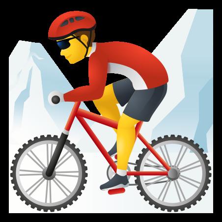 Man Mountain Biking icon