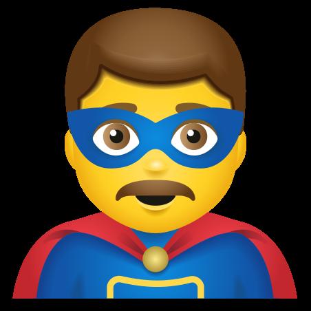 Man Superhero icon