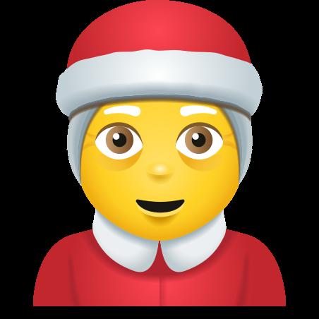 Mrs Claus icon