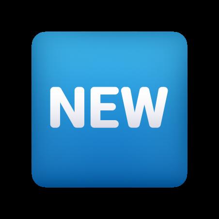 NEW Button icon