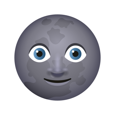 New Moon Face icon