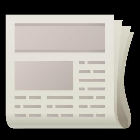 Newspaper Emoji icon