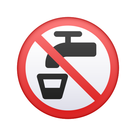 Non-potable Water icon