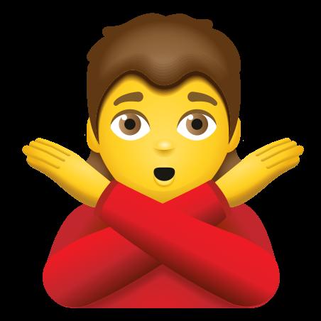Person Gesturing No icon