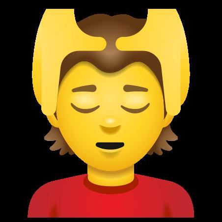 Person Getting Massage icon