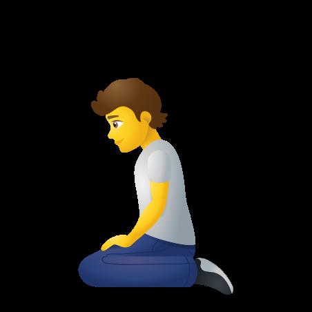 Person Kneeling icon