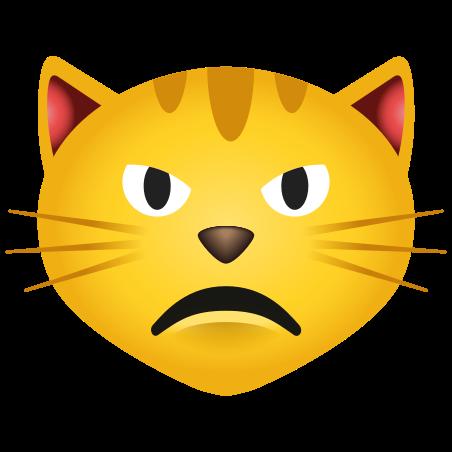 Pouting Cat icon