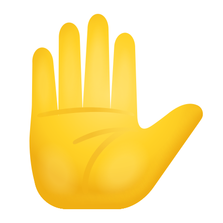 Raised Hand Icon Free Download Png And Vector Download icons in all formats or edit them for your designs. raised hand icon free download png
