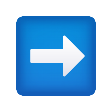 Right Arrow icon in Emoji