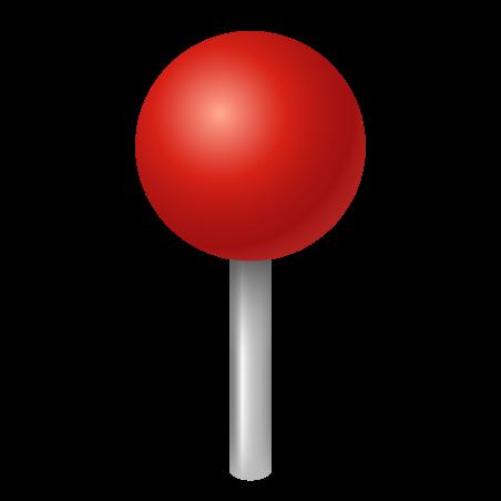 Round Pushpin icon
