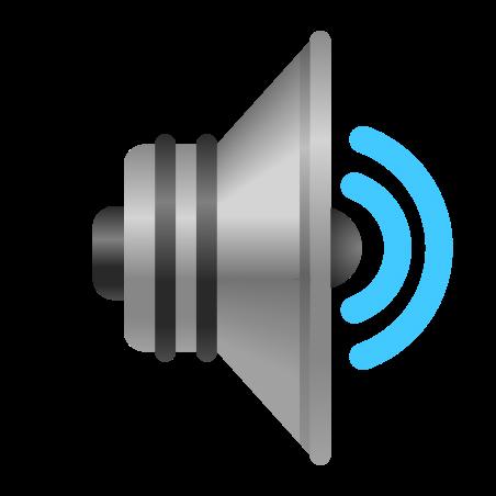 Speaker Medium Volume icon