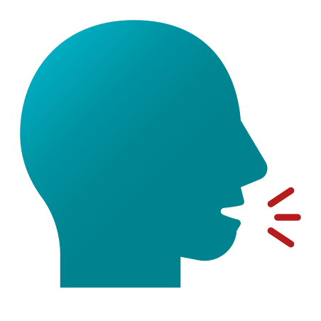 Speaking Head icon