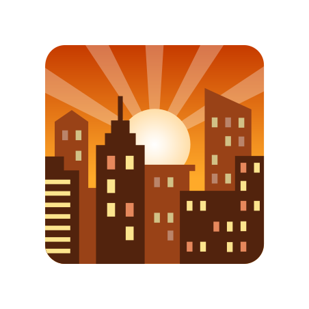 sunset icon free download png and vector icons8