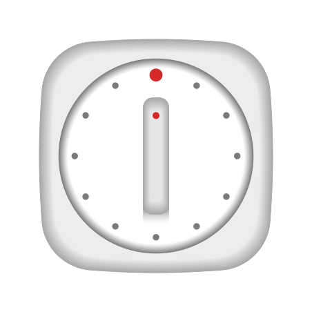 Timer Clock icon in Emoji