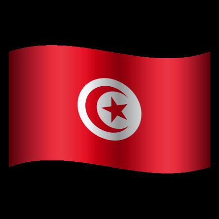 Tunisia Circular icon