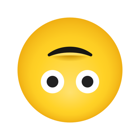 Upside Down Face icon