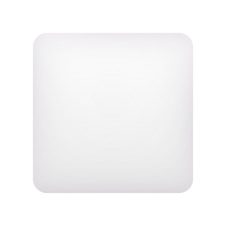 White Large Square icon