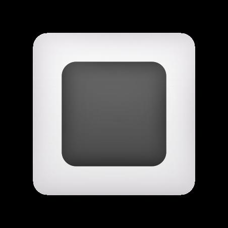 White Square Button icon