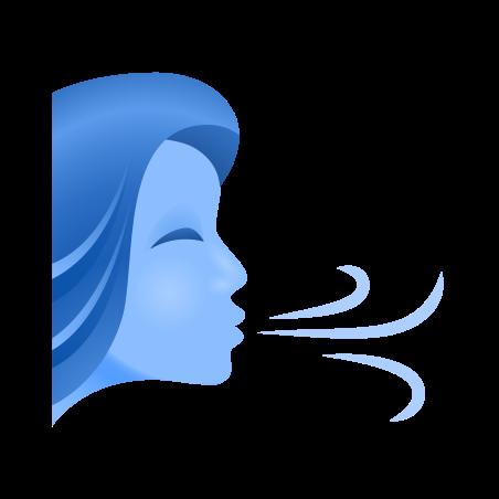Wind Face icon in Emoji
