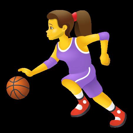 Woman Bouncing Ball icon