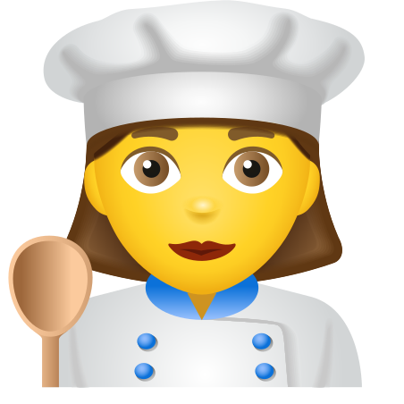 Woman Cook icon