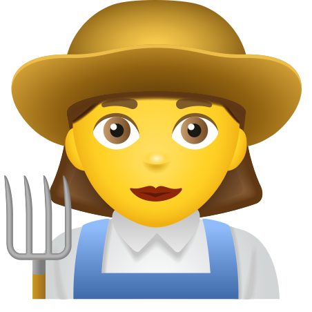 Woman Farmer icon