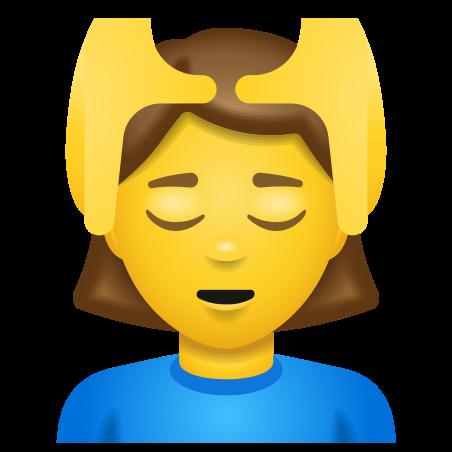 Woman Getting Massage icon