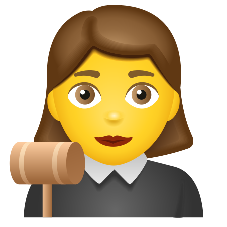 A Female Judge Ordering The Court   Cartoon clip art, Clip art library,  Cartoon