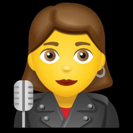 Woman Singer icon