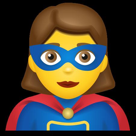 Woman Superhero icon