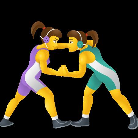 Women Wrestling icon