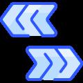 Opposite Arrows icon