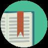 Книжная закладка icon